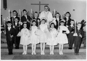 Weißer Sonntag in Oberderdingen vor 50 Jahren