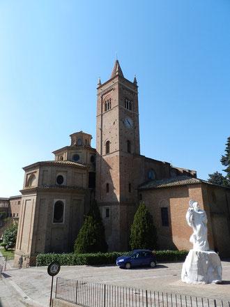 トスカーナ修道院めぐり