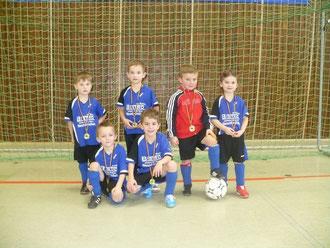 2. Platz bei den Stadtmeisterschaften G-Jugend SV Bexbach