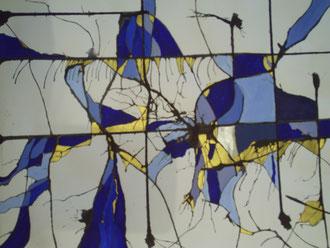 Mario, Lorenz, Kunst, Künstler, Bild, Malerei, Graz, Steiermark, Österreich, rar, selten, abstrakt, magic, blue, blau, gold, Tinte, schön, kaufen, günstig, direkt, Büro, repräsentativ, Vorzimmer, elegant, interessant, modern, zeitgenössisch, neu, aktuell