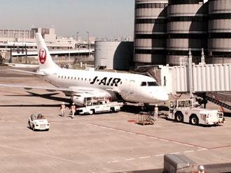 ☆搭乗口24番の搭乗機。