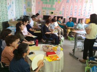 ☆8月2・3日のスマイルパソコン教室さんでのiPad講師養成講座の講習風景。