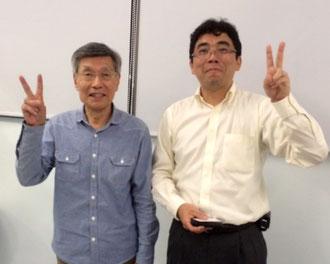 ☆多摩信用金庫 価値創造事業部 長島 剛部長さんとのツーショット。