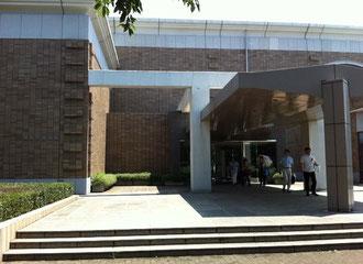 ☆入間市博物館の入り口。立派な建物です