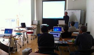 ☆「Windows 8研究会」で討議中。4月27日