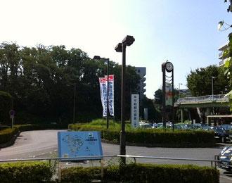 ☆西武線「入間市駅」南口みどりが目立ちます