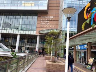 ☆写真は川口駅東口駅前に所在するキュポ・ラ。その7階のメディアセブンを訪問。