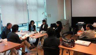 ☆工夫その3 11月3日はシニアについての勉強会(座談会)をしました。