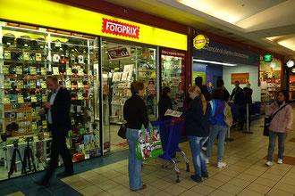 Top Lagen in Einkaufszentren und Fußgängerzonen