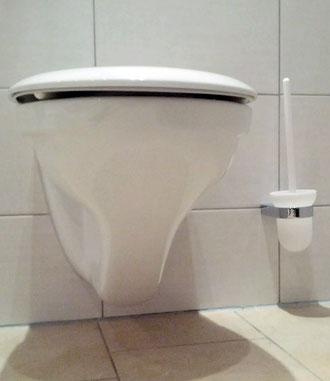 toilette verstopft mit plastikteil