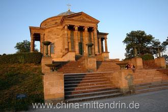 Die Grabkapelle der Großherzogin Katharina auf dem Rotenberg in Stuttgart.