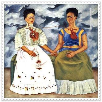 Magdalena Carmen Frida Kahlo Calderón (1907 - 1954 Coyoacán, México).