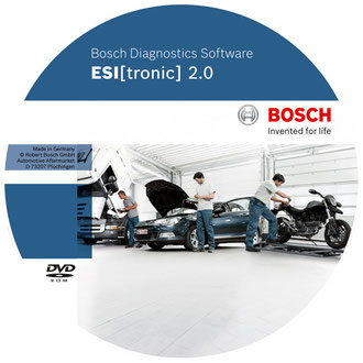 Diagnose-Software ESI(tronic) 2.0 von BOSCH