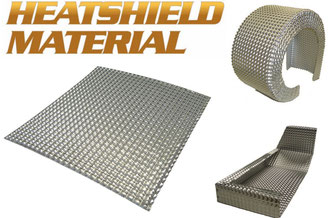Exhaust Heat Shielding Heat Shield Mat Performance Car