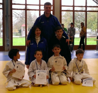 vl. Yanis, Nick, Julian, Antonio       Trainer: Karin, Alexander & Patrick