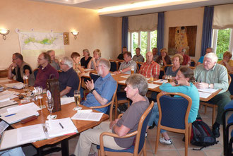 Die Mitgliederversammlung am 13.6.2014