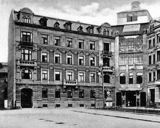 Künstlerhaus Leipzig um 1905