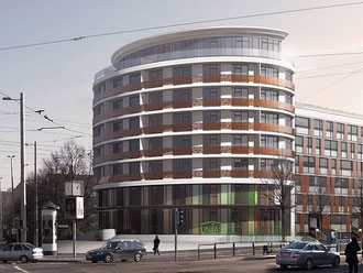 UNITAS-Neubau am Westplatz