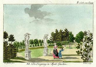 Eingang zu Apels Garten