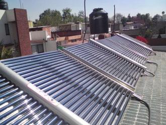 Sistema industrial de calentamiento de agua