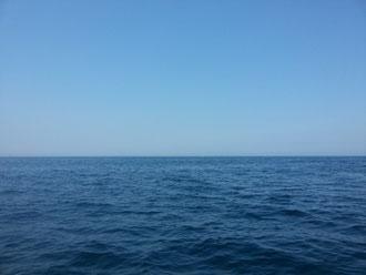 穏やかな海(^^♪