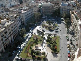 バレンシアの広場