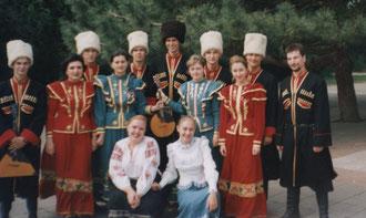 """В фольклорном ансамбле """"Голоса Кубани"""""""