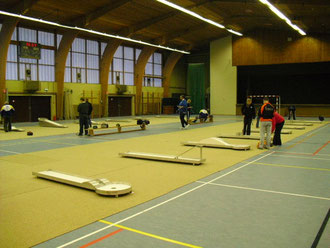 Indoor Turnier in Eupen