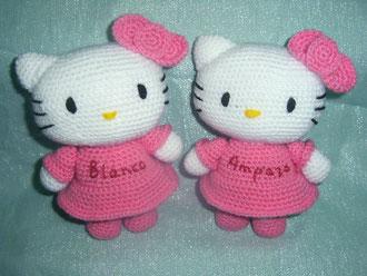 hello kitty gemelas