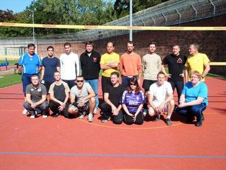 Volleyball in der Justizvollzugsanstalt Wolfenbüttel