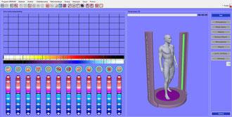 Możliwości urządzenia skanującego Diacom Lite+Freq