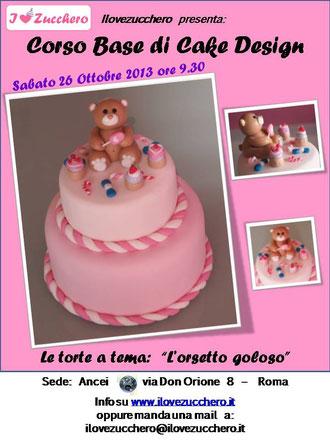 Corso Di Cake Design Gratuito Roma : corsi cake design roma - Ilovezucchero sito dedicato alla ...