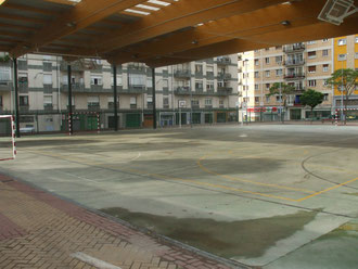 Ermitaberri ikastetxeko zelaia