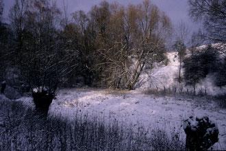 Winteridylle im Hambachgrund. (c) Hans Schönecker
