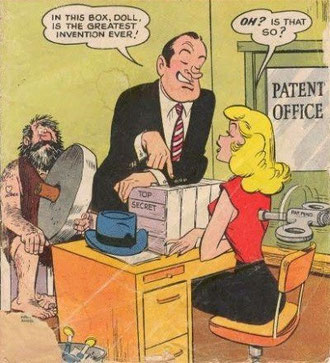 Bob Hope - Comic about patents