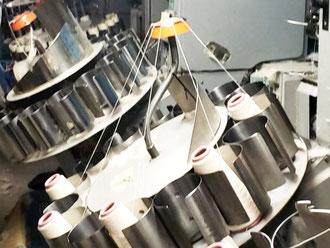 軍手製造の設備の写真