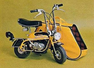 """Mini Marcellino Segunda Serie modelo """"Super América"""" con bolsa de transporte, modelo vendido en EEUU"""