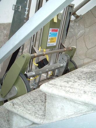 Motoriduttore e parti elettriche del carrello SUPERIOR 350 - TCS / Elviotrolley