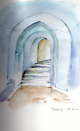 Les portes de Pyrgos