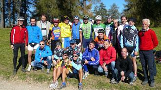 MTB Teilnehmer in Jenesien