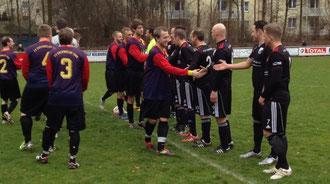 FV II - TSV vor dem Spiel