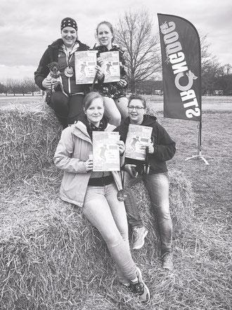WE DID IT! - Anna, Alina, Nadja und Caro
