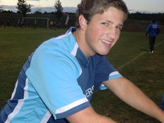 Grund zur Freunde gab's auch bei Tobias Wagner nach dem 5:4-Sieg im Pokal-Viertelfinale