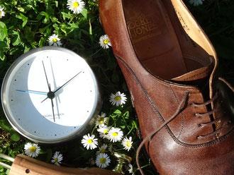 Schuhspanner verlängern ein Schuhleben/ Shoetrees prolong a shoe life. Photo: Men's Individual Fashion.
