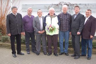 Verabschiedung des Stellvertreters Max Fuchs 12.2.2012