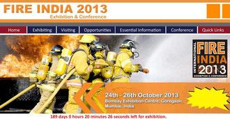 インド展示会  防火 防災