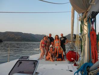 Katamaran Segelurlaub Türkei
