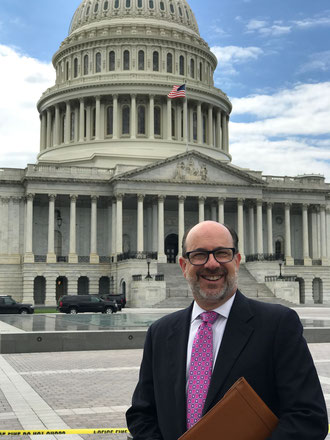 """""""Freight building infrastructure needs to be updated throughout major U.S. airports,"""" Brandon Fried  - photo: Airforwarders Association"""