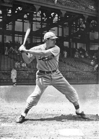 Nella foto Joe Medwick dei Cardinals 1934