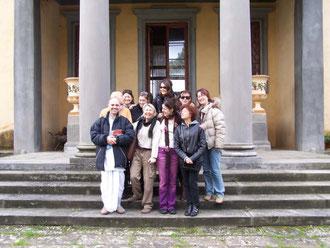 gruppo 2007 in visita a Vrindavana